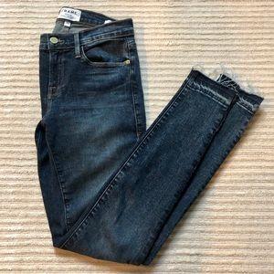 FRAME denim Le Skinny de Jeanne Jeans sz 26 EUC